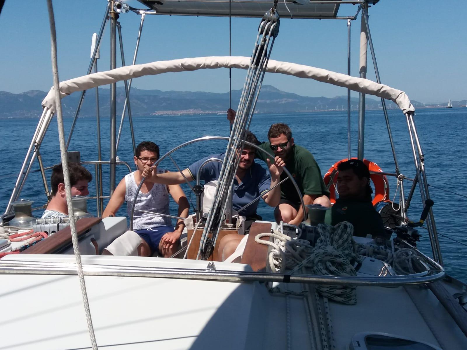"""Vela, l'equipaggio del centro """"Luigi Capotorti"""" di Tarquinia a Marelibera"""