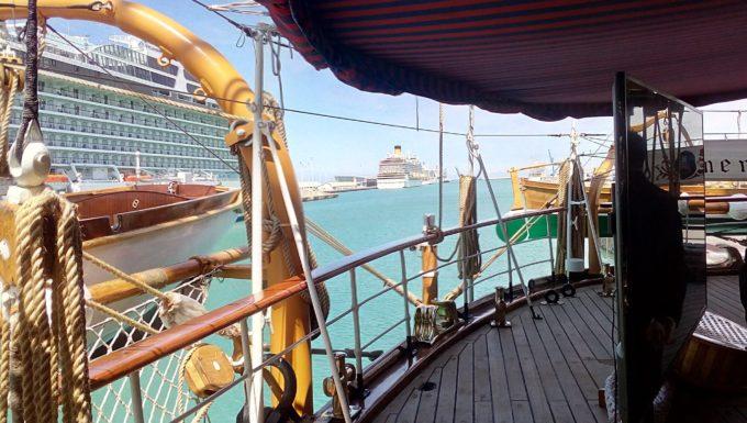 Tra naval diplomacy ed istruzione la campagna 2019 dell'Amerigo Vespucci presentata al porto di Civitavecchia