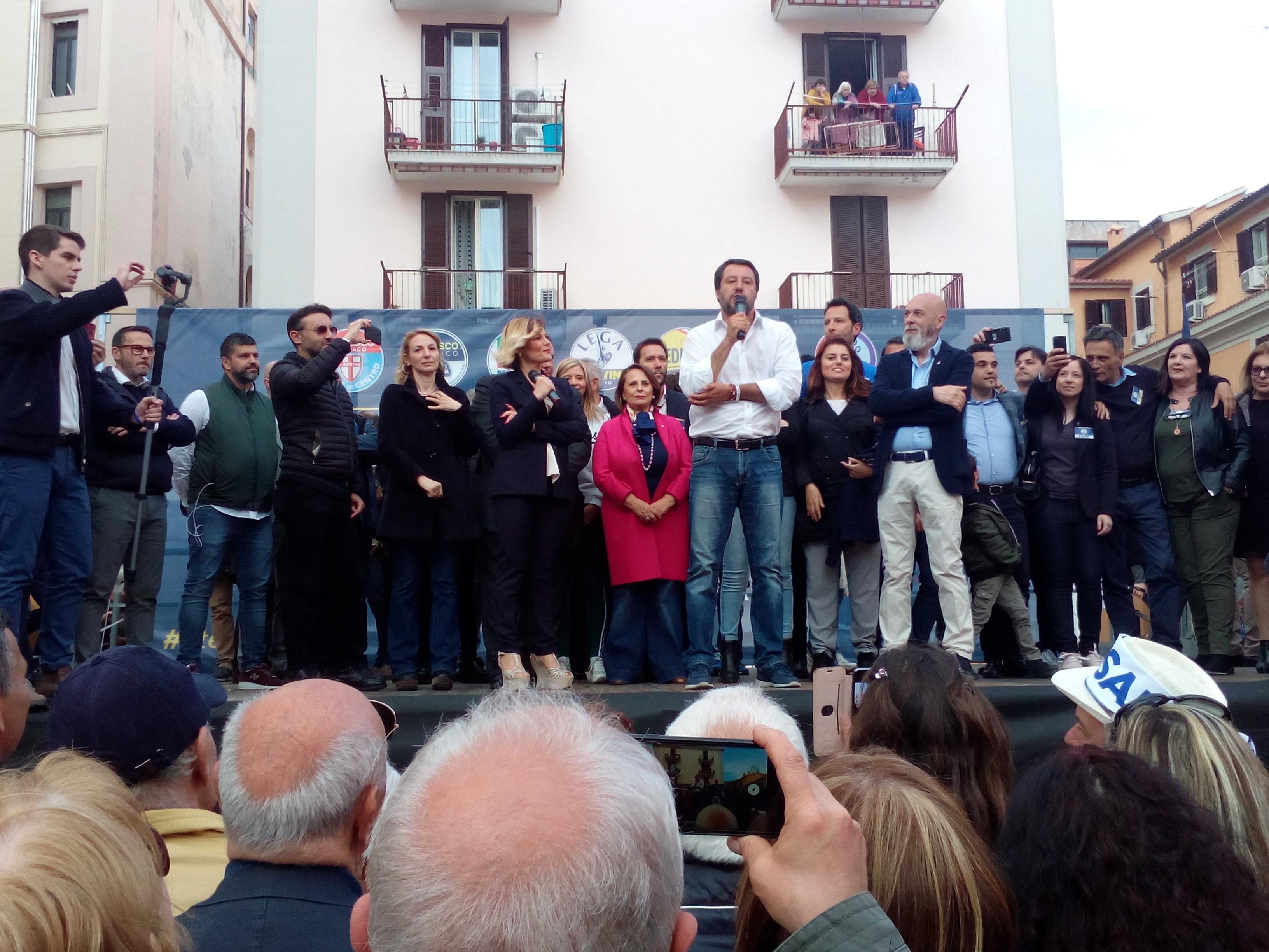 Il 2 giugno Salvini sarà a  Civitavecchia per sostenere il candidato Sindaco Tedesco in vista del ballottaggio