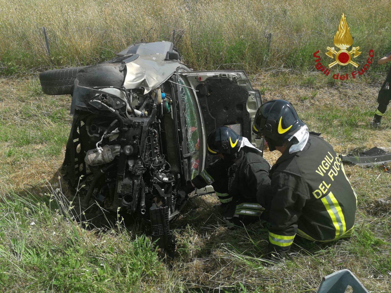 Grave incidente sull'Aurelia donna trasportata con codice rosso in elicottero