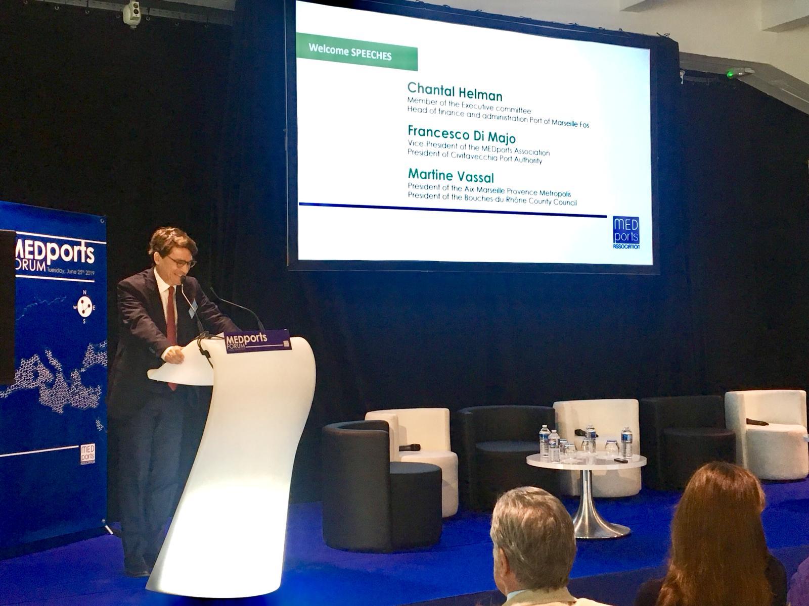 Marsiglia, MEDports Forum 2019