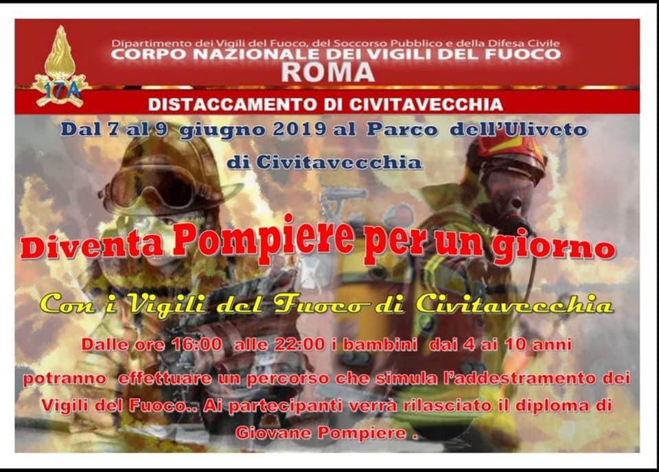 A Civitavecchia per i più piccoli torna Pompieropoli dal 7 al 9 giugno