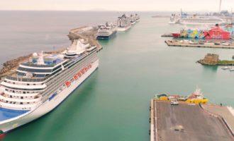 Il successo di Roma Cruise Terminal: semestre da record, +4,5% rispetto al 2018