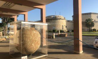 Alla Capitaneria di Porto di Civitavecchia è possibile ammirare un antico dolio vinario romano