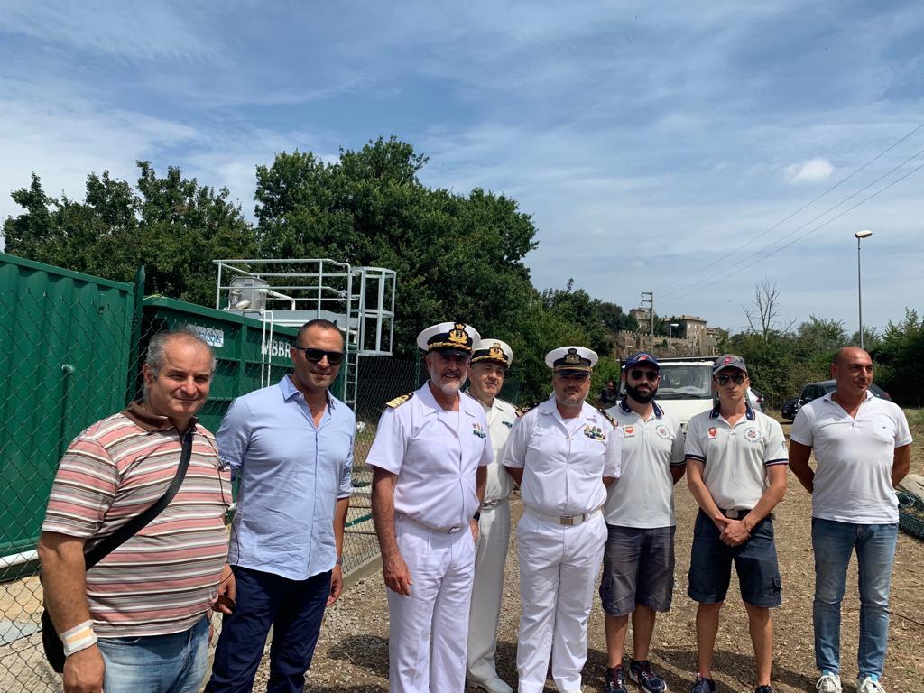 Il Direttore Marittimo del Lazio in visita presso i Comandi territoriali in vista del Ferragosto