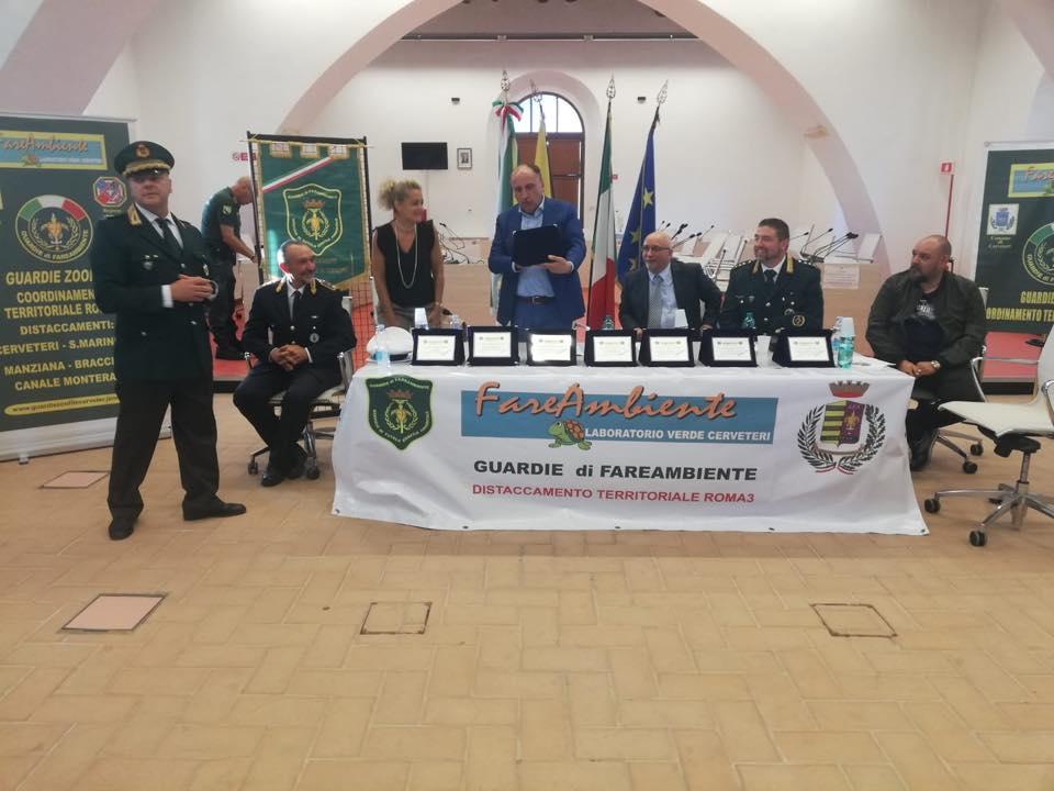 Cerveteri, concluso il VI Corso ufficiale delle Guardie Ecozoofile di Fare Ambiente