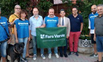 Civitavecchia, Fare Verde dona fiori e piante per adornare via Palmiro Togliatti