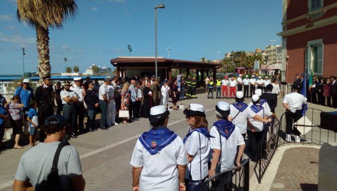 A Civitavecchia il ricordo dei caduti in mare