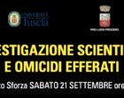 L'UNITUS a Proceno si parla di investigazioni scientifiche e del nuovo corso di laurea magistrale in sicurezza