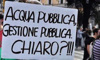 Acqua pubblica, il M5s di Tarquinia raccoglie le firme sabato 28 in piazza Cavour