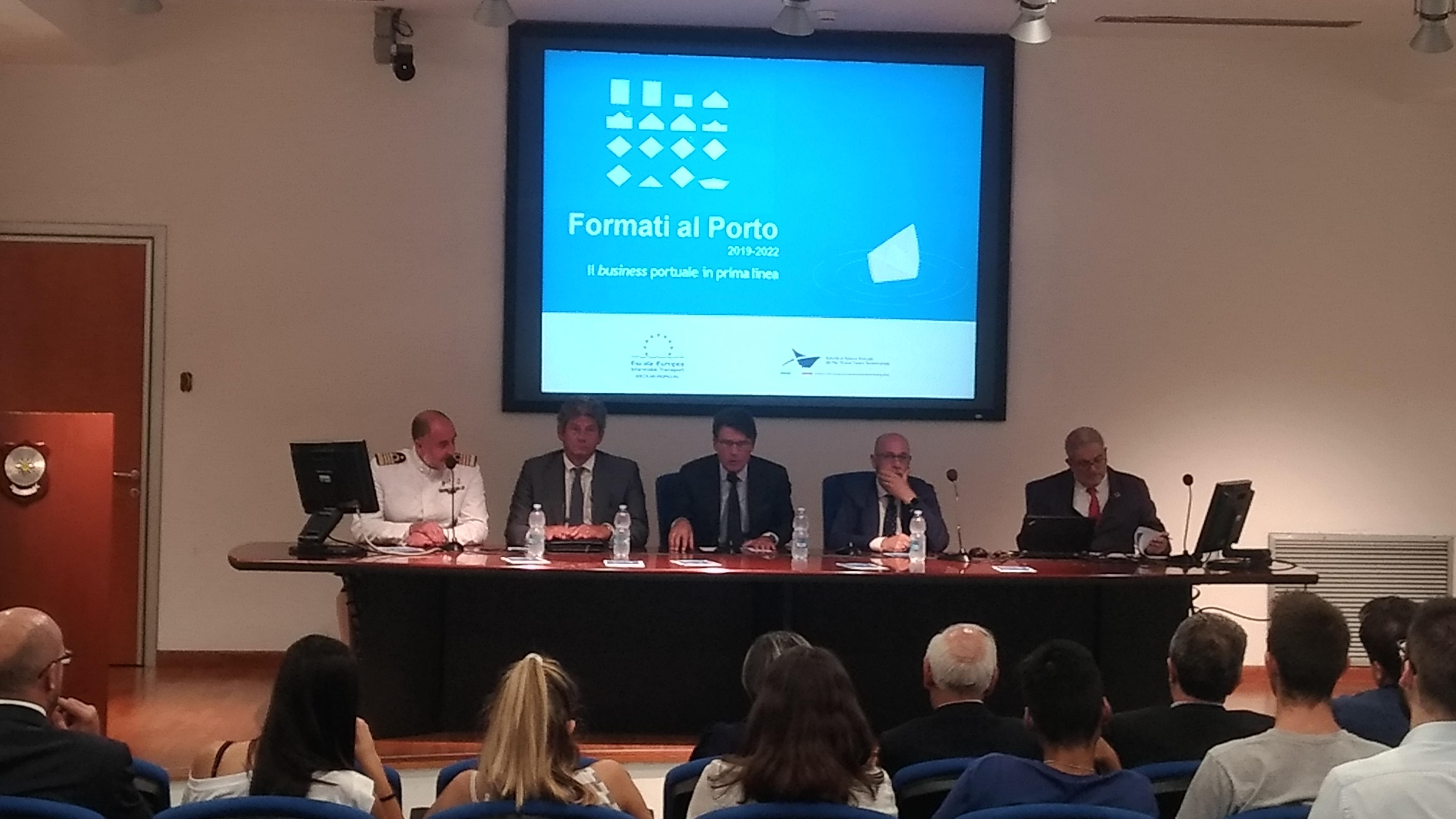"""Escola Europea Intermodal Transport e Autorità di Sistema Portuale del Mar Tirreno Centro Settentrionale insieme per il progetto """"Formati al Porto"""""""