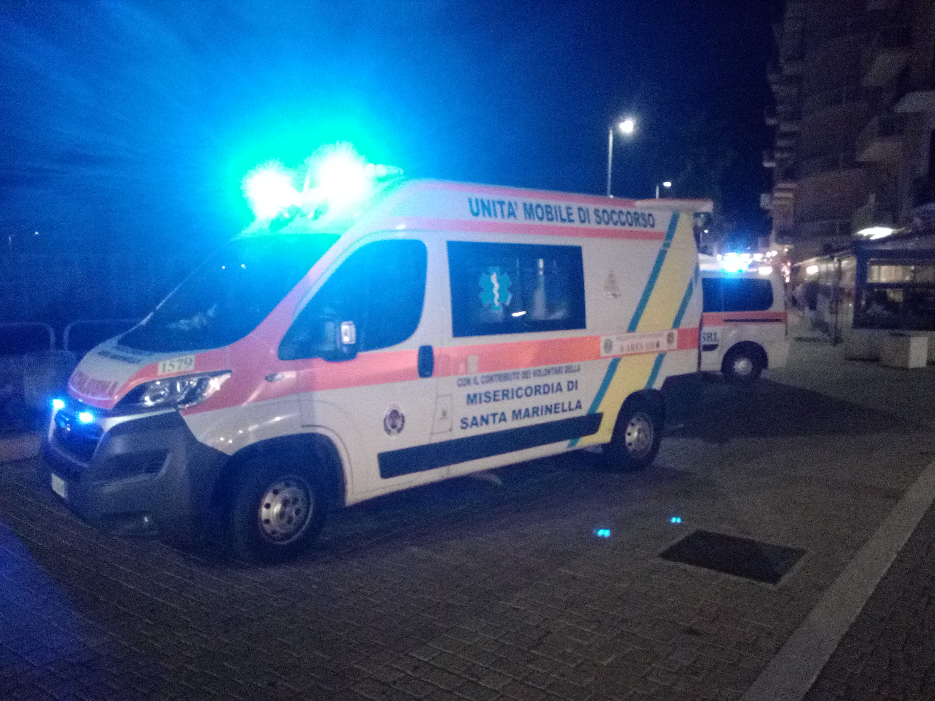 Civitavecchia, in centro diversi interventi degli uomini della Croce Rossa