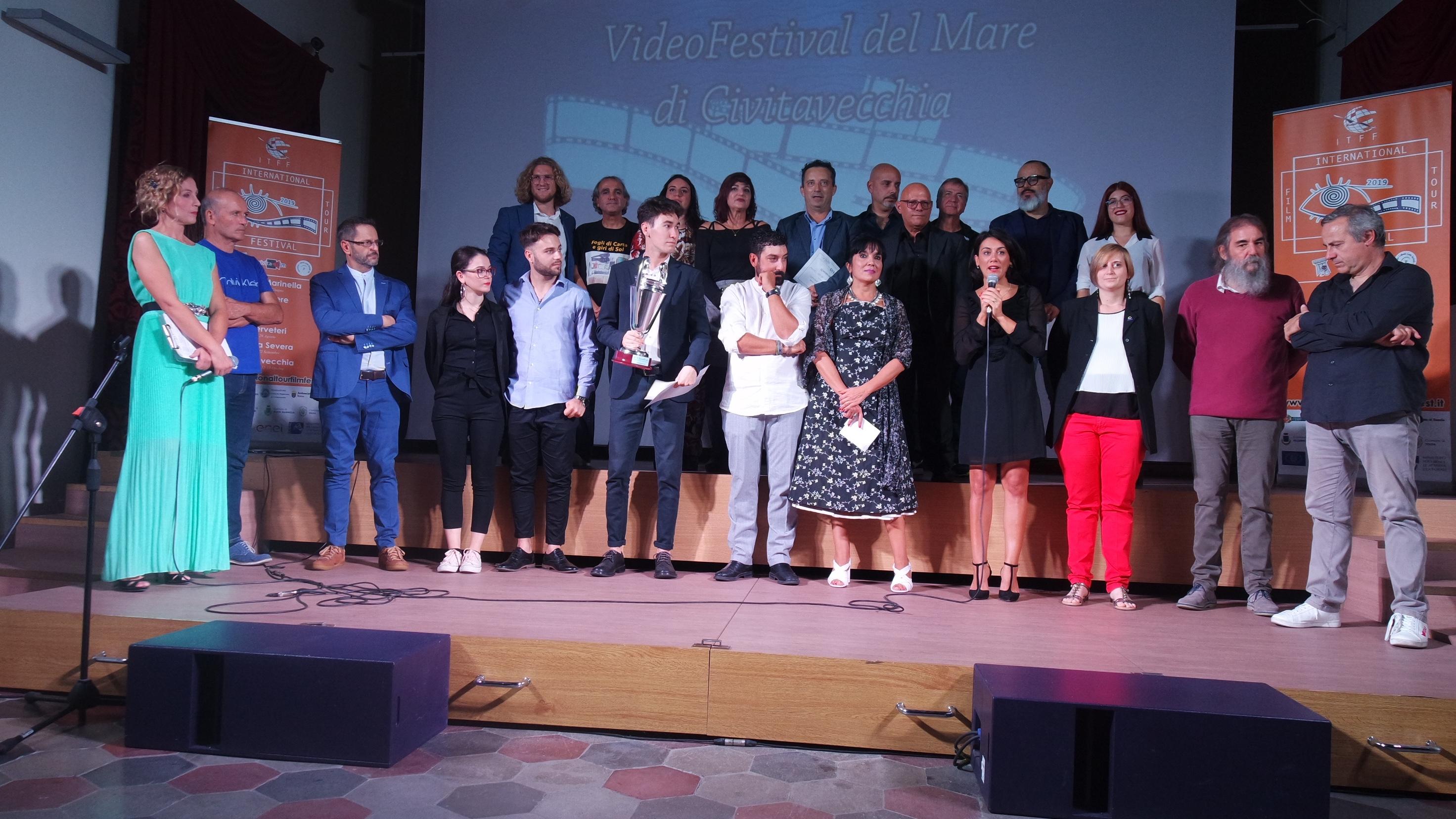 """Civitavecchia, grande successo per il quarto """"Video Festival del Mare"""""""