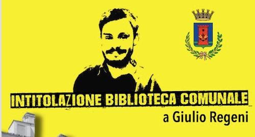 Fiumicino, intitolata a Giulio Regeni la biblioteca comunale di villa Guglielmi