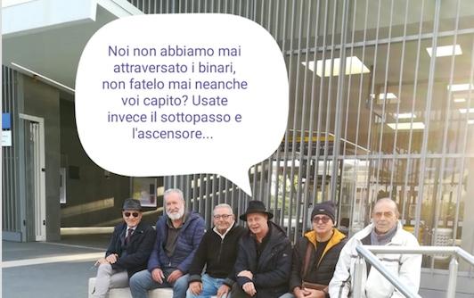 """Stazione FS Marina di Cerveteri, l'appello del Delegato Galluso: """"Non attraversate i binari"""""""