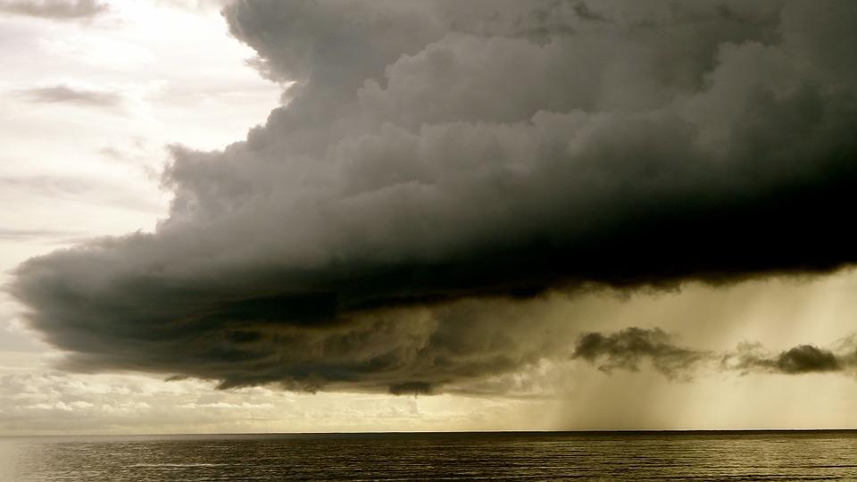Weekend con temporali nel litorale