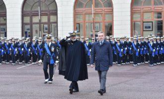 Difesa: il ministro Guerini all'Accademia Navale di Livorno per il giuramento degli allievi ufficiali