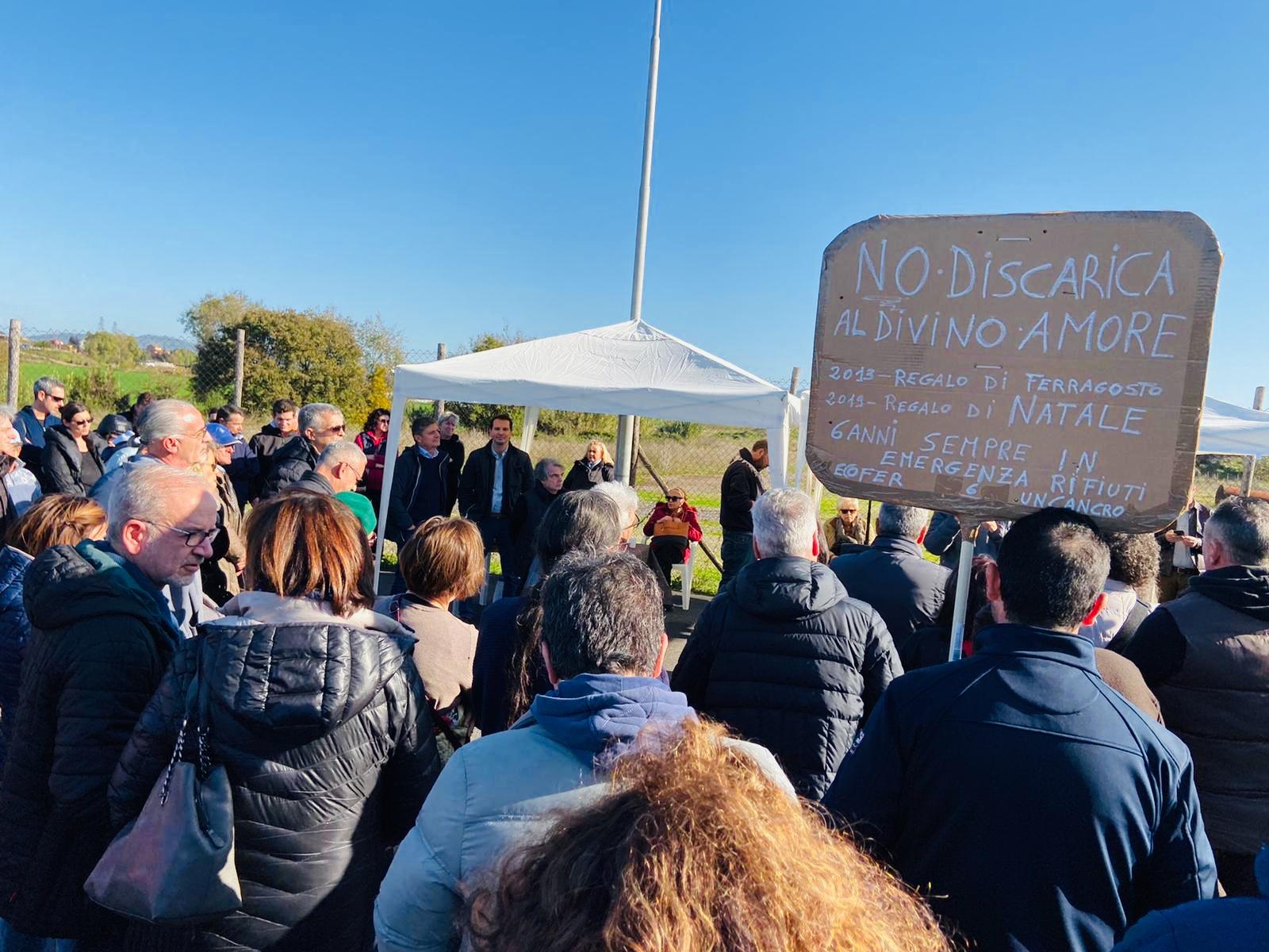 """Rifiuti, Forza Italia: """"Ribadiamo nostro NO alla discarica al Divino Amore"""""""