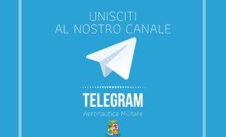 L'Aeronautica Militare atterra su Telegram: un nuovo canale per essere sempre aggiornati