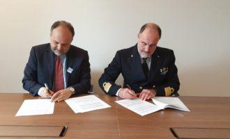 Firmato al porto di Civitavecchia un protocollo di intesa tra Ami e Guardia Costiera per valorizzare la tutela del mare