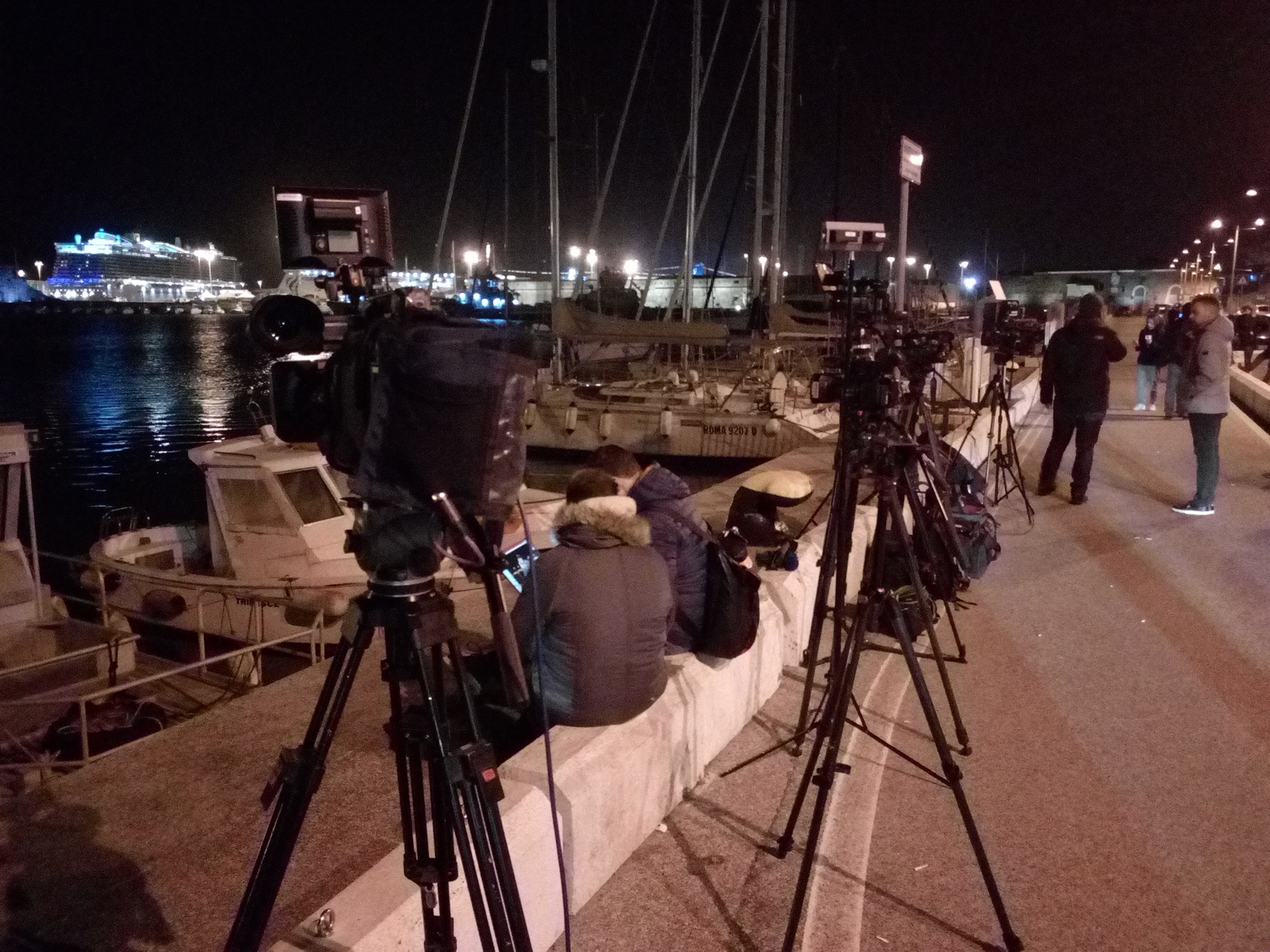 """Ministero della Salute: """"Negativi i campioni dei passeggeri della nave da crociera"""", questa mattina lo sbarco a Civitavecchia"""