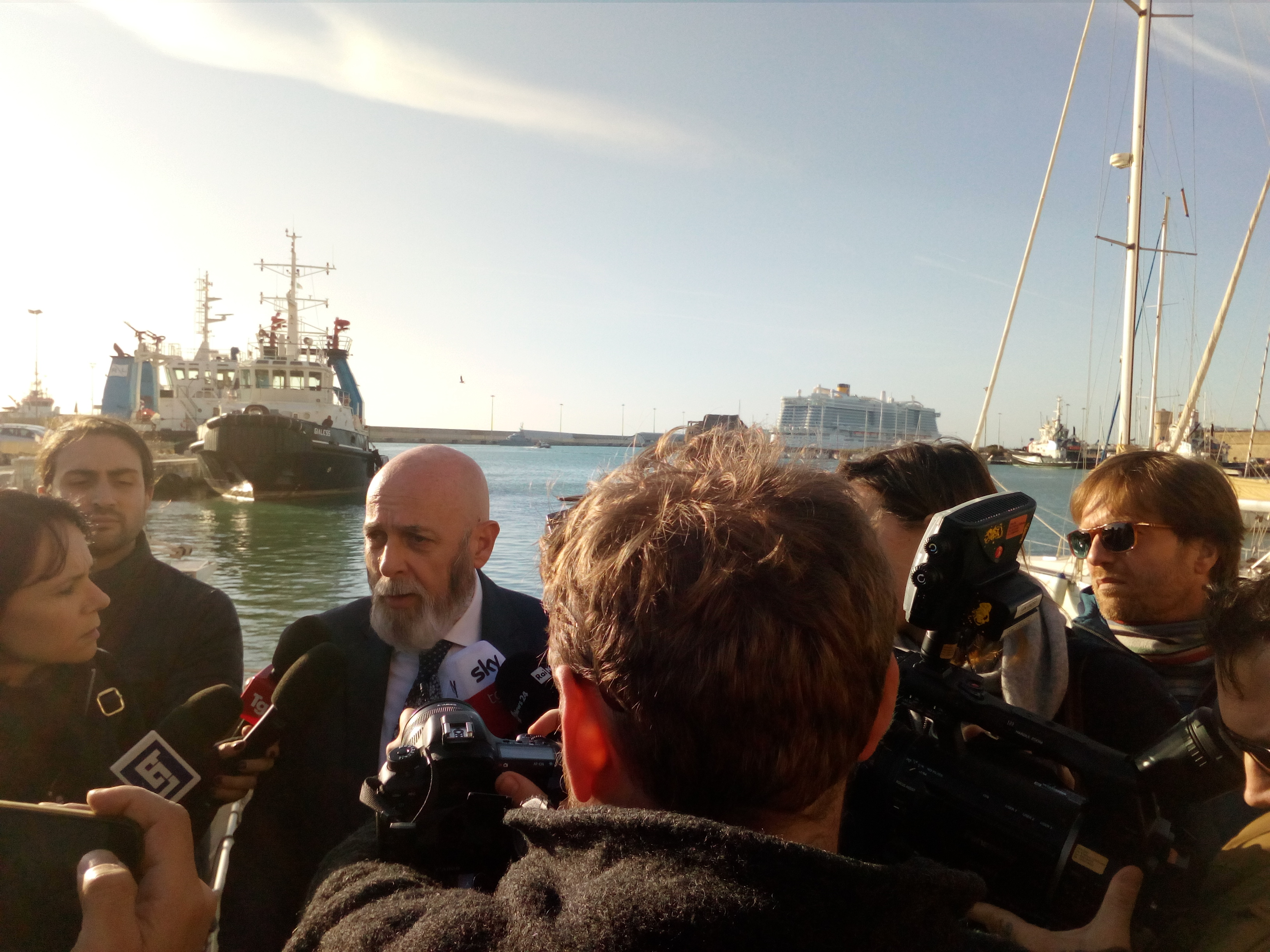 Presunta febbre sulla nave da crociera al porto di Civitavecchia si aspettano i risultati delle analisi