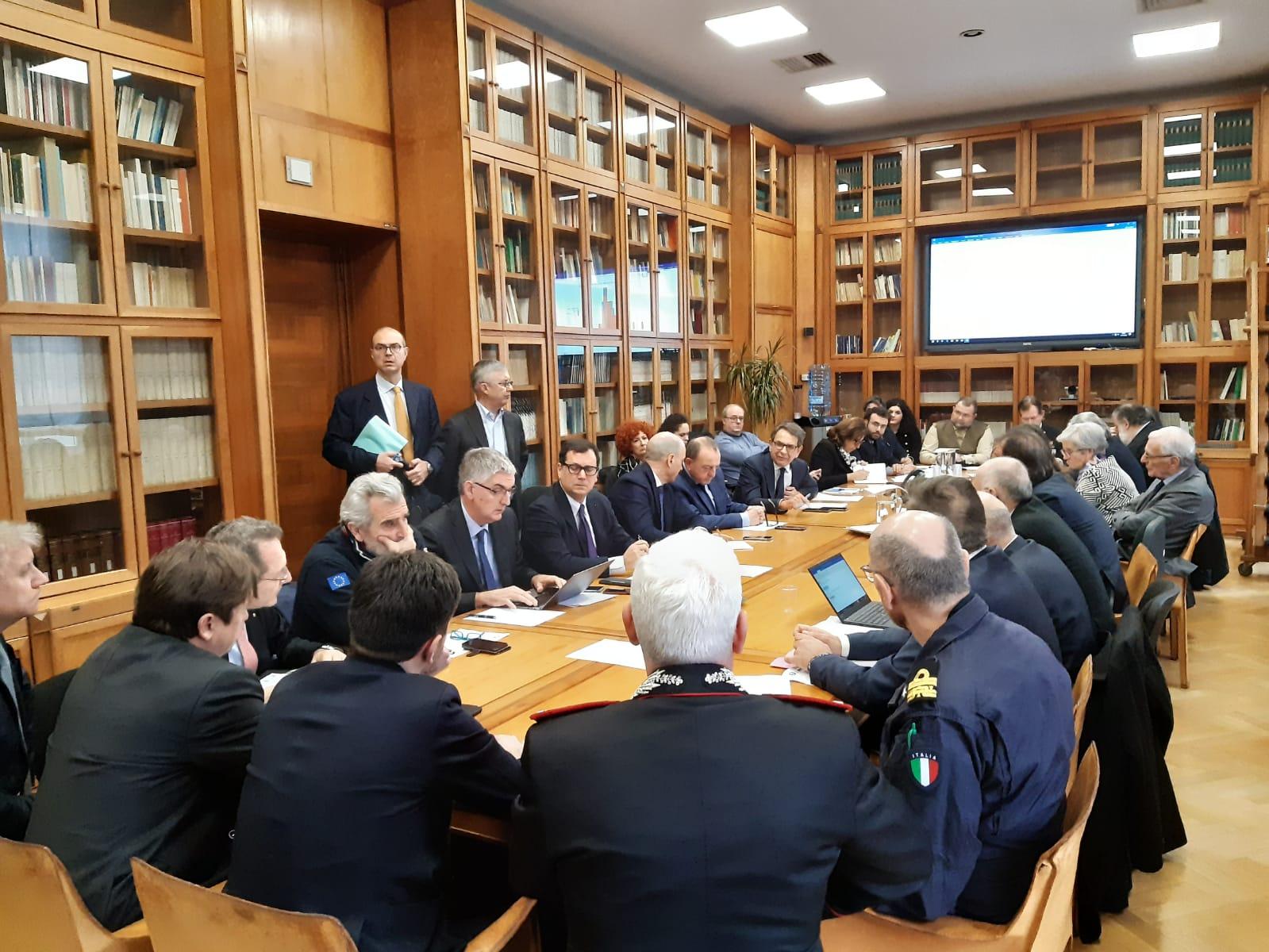 """Speranza: """"Italia al più alto livello di cautela internazionale"""""""