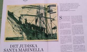 UDISK la più importante rivista ebraica di Svezia parla di Santa Marinella