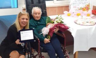 Gli auguri della Città di Civitavecchia per i 102 anni di Pace Frassati