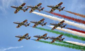 Civitavecchia, Santa Fermina ospiterà le Frecce Tricolori