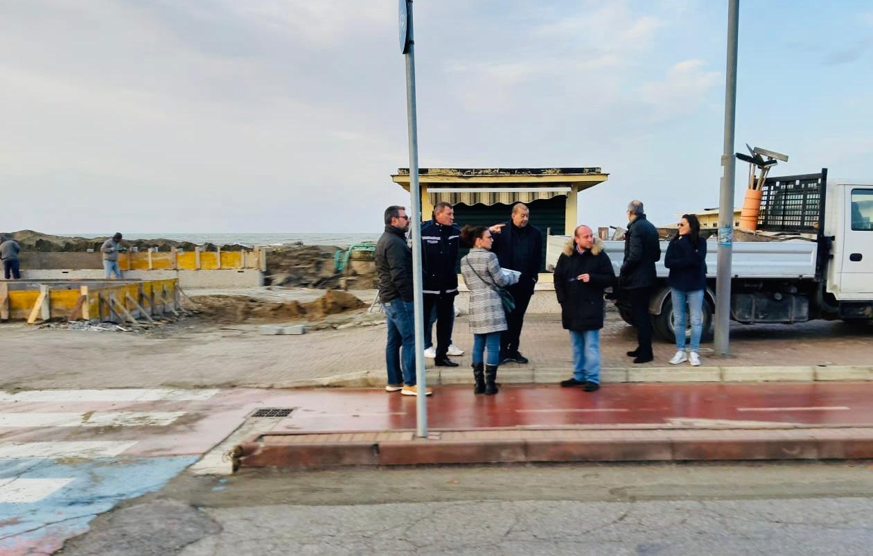 """Il Sindaco e lo staff tecnico in visita a Tarquinia lido:""""non un semplice sopralluogo, ma una """"radiografia"""""""