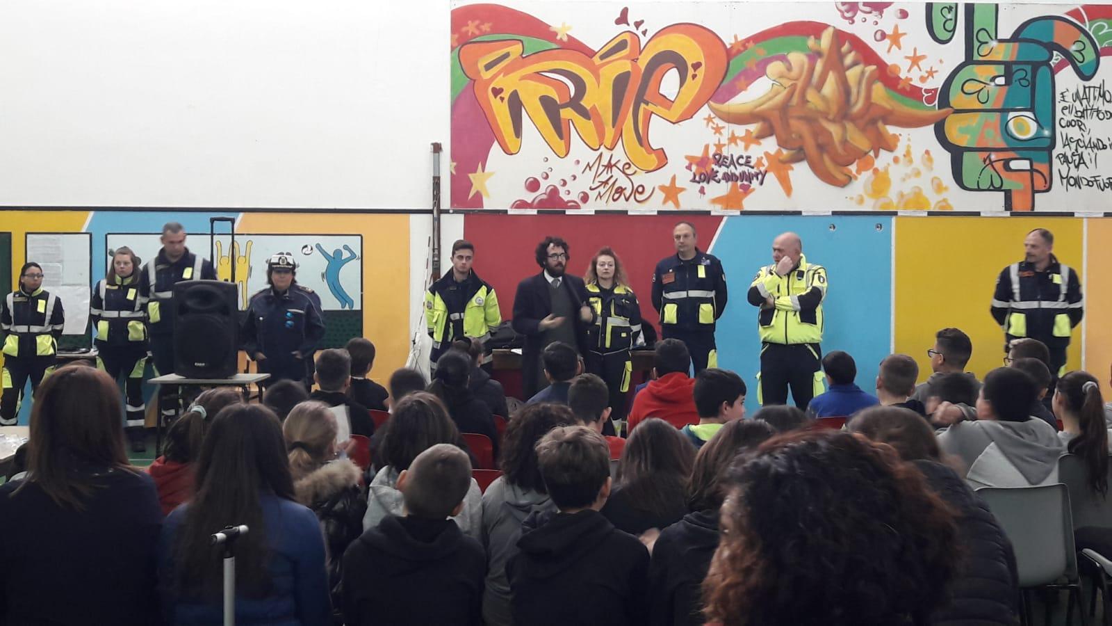 COVID-19, prevenzione e formazione: ProCiv e Polizia Locale di Cerveteri nelle scuole