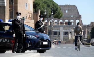 Roma, violazioni delle prescrizioni imposte dalle misure adottate dal governo per il contenimento del coronavirus 15 denunce
