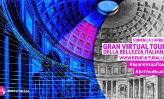 Cultura, al via il Gran virtual tour della bellezza, Mibact: manteniamo viva l'attenzione sul patrimonio culturale