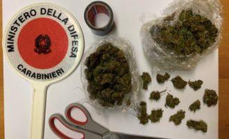 Sorpreso in auto con più di un etto di marijuana  22 enne arrestato