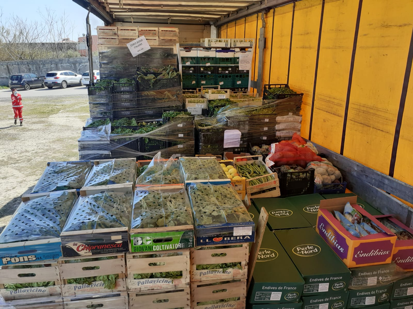 Civitavecchia, emergenza COVID-19: pesce, verdura e frutta fresca alle famiglie disagiate