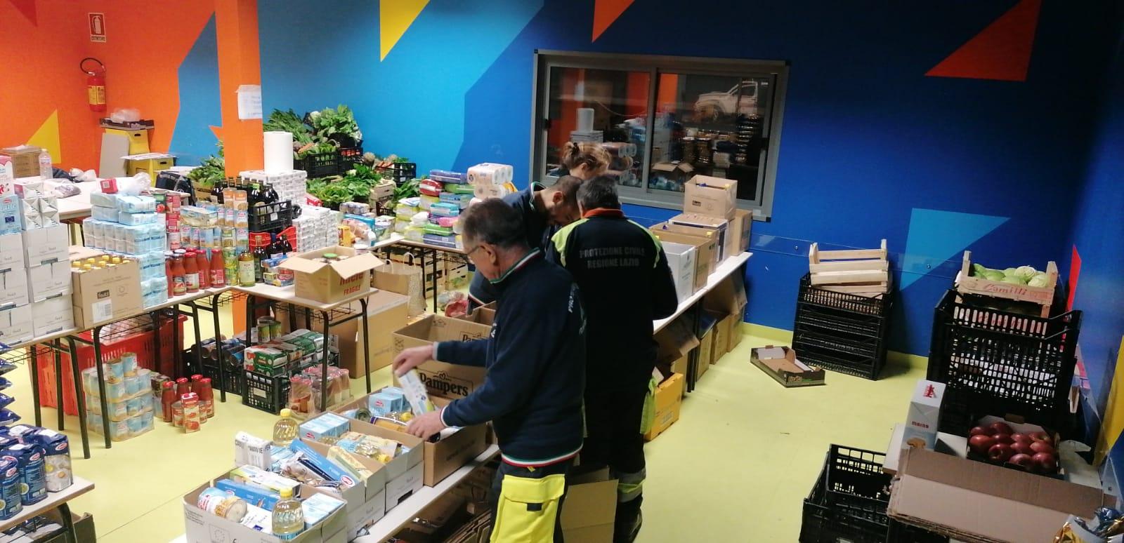 Cerveteri, COVID-19: Comune e Protezione Civile consegnano 387 pacchi di generi alimentari alle famiglie in difficoltà