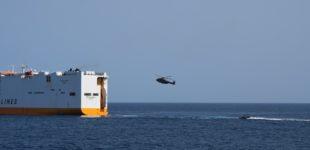 Esercitazione anti-pirateria nel golfo di Guinea Marina Militare e Guardia Costiera in sinergia con Confitarma e gruppo Grimaldi