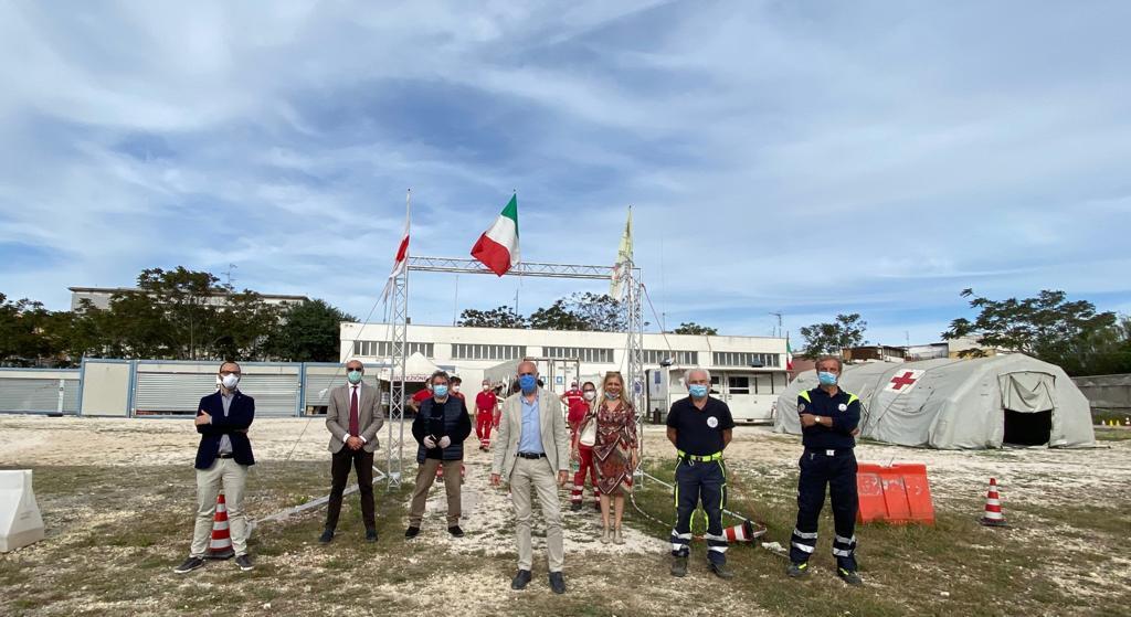 Civitavecchia, emergenza Covid-19: donazione Usmia al Polo logistico d'emergenza