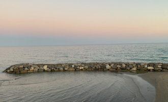 Ammaraggio di un deltaplano in località Marina di San Nicola, soccorso il pilota