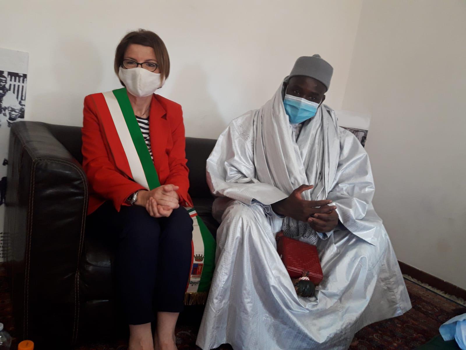Ladispoli: incontro con la comunità Senegalese