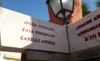 Ladispoli: monumento ai caduti, tornano ad essere visibili i nomi dei giovani Ladispolani