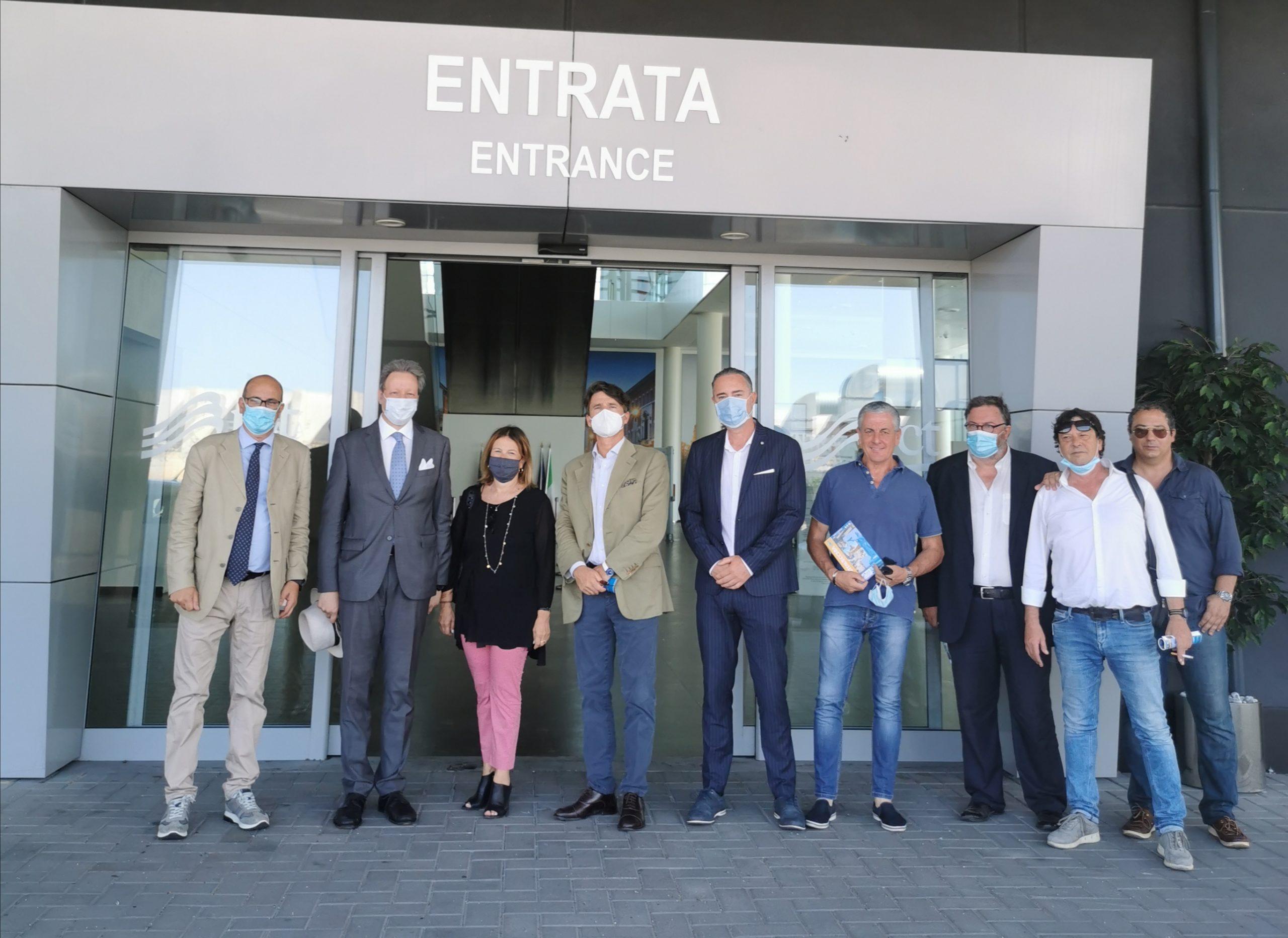 Porto di Civitavecchia, arriva il servizio informazioni turistiche della Regione Lazio